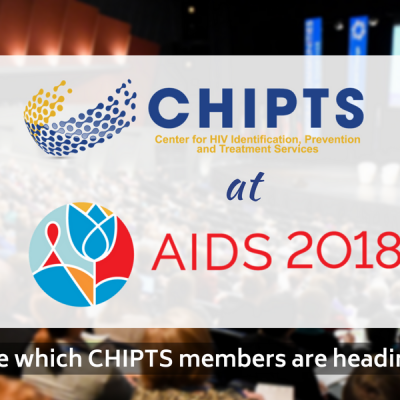 CHIPTS Members at AIDS 2018 Gallery