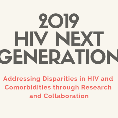 HIV Next Generation 2019 Conference – Register Today!