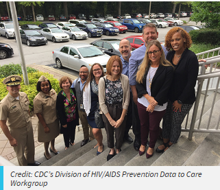 CDC's Division of HIV/AIDS Prevention Data to Care Workgroup
